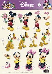 Disney - STAPDIS05 - Mickey en familie