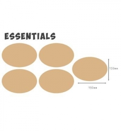 460.440.007 MDF Essential Oval