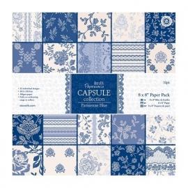 PMA 160218  8 x 8 Paper Pack (32pk) - Capsule Collection - Parisienne Blue