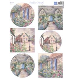Marianne Design MB0173 - Mattie's mooiste: Cottages
