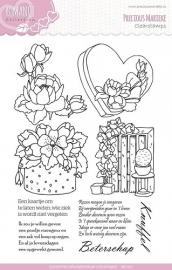 Precious Marieke - PMCS10003  Clearstamp - Romance