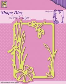 Nellie Snellen - SDL020  Shape Dies - Summer Dragonfly