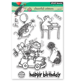 Penny Black clear stamp - Cheerfull Critters 30-426