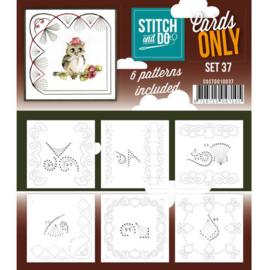 COSTDO10037 Stitch & Do - Cards only - Set 37