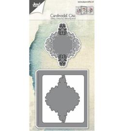 6002/0600 Kaartmodel sierlijk
