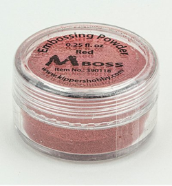 Mboss Embossing powder Red 390118