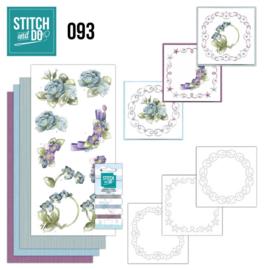 STDO093 Stitch and Do 93 - Winterflowers