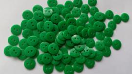 Groene knoopjes 10 stuks 11mm