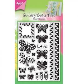 6410/0036 Stempel vlinders