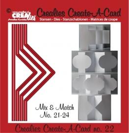 Crealies - Create A Card no. 22 CCAC22