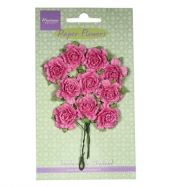 Marianne Design Paper Flowers Carnations - bright pink RB2258