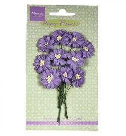 Marianne Design Paper Flowers Daisies - dark lavender RB2255