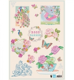 Marianne Design Rose garden EWK1219
