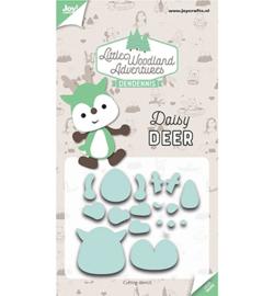 6002/3125 - Snijstencils - LWA - Daisy Deer (Hert)