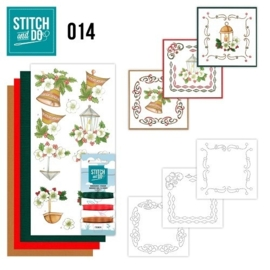 STDO014  Stitch and Do 14 - Klassieke kerst