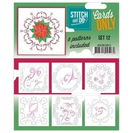 COSTDO10012  Stitch & Do - Cards only - Set 12