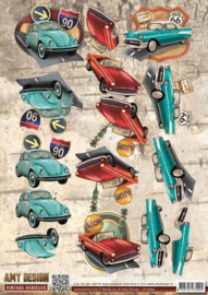 Amy Design - CD10846 - Vintage Vehicles - Cars