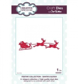 Creative Expressions CED3043 Santa's Sleigh