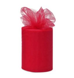 Tule 15 cm breed rood