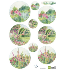 Marianne Design IT592 Tiny's English garden - Roses