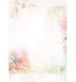 Studio Light - Romantic Summer nr.221 A4 Basispapier BASISRS221