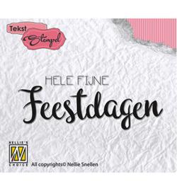 Nellie Snellen - Hele Fijne Feestdagen DTCS009