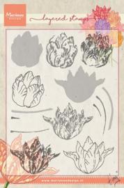 Marianne Design - Tiny`s tulip (layering) TC0852