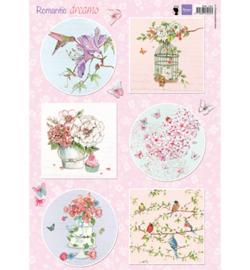 Marianne Design - EWK1264 - Romantic Dreams - Pink