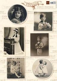 Marianne Design - Vintage children 1 VK9533