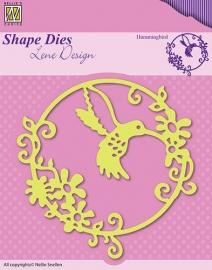Nellie Snellen - SDL023  Shape Dies - Summer Bummingbird