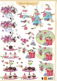 Marianne Design Sweet Summer 2 EWK1204