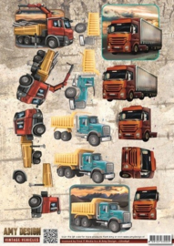 Amy Design - CD10848 - Vintage Vehicles - Trucks