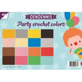 6011/0554 - Dendennis Party crochet colors