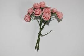 Bloemen koraal roze 2