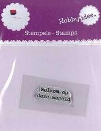 Hi-stamp-0003 Welkom op deze wereld