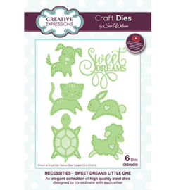 Creative Expressions CED23008 - Sweet Dreams Little One