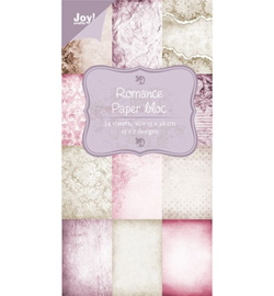 Joy!Crafts 6011/0305 Paper Bloc Romance