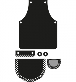 Marianne Design CR1246 Apron
