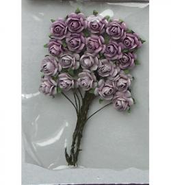 Marianne Design Paper Roses Lavender RB2216