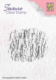 Nellie's Choice Clearstamp - Texture Bark TXCS002