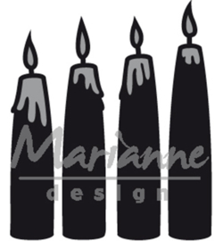 Marianne Design CR1425 - Advent candles
