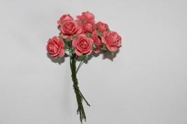 Bloemen koraal roze 5