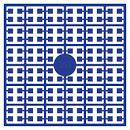 pixelmatje  309 - koningsblauw donker