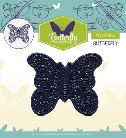 Yvonne Creations - YCD10065 Die - Butterfly