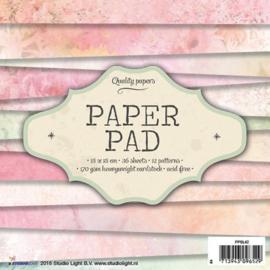 Studio Light Paper pad 36 vel 12 designs nr 42 PPSL42 15x15cm