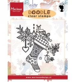 Marianne Design EWS2223 Doodle Christmas stocking