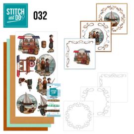 STDO032 Stitch and Do 32 - Oud Hollands