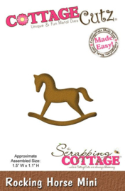 CottageCutz Rocking Horse Mini (CC-MINI-161)