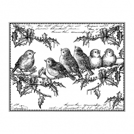 Crafty Individuals CI-424 Jolly Holly Robins