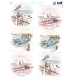 Marianne Design - MB0180 - Matties Mooiste boats